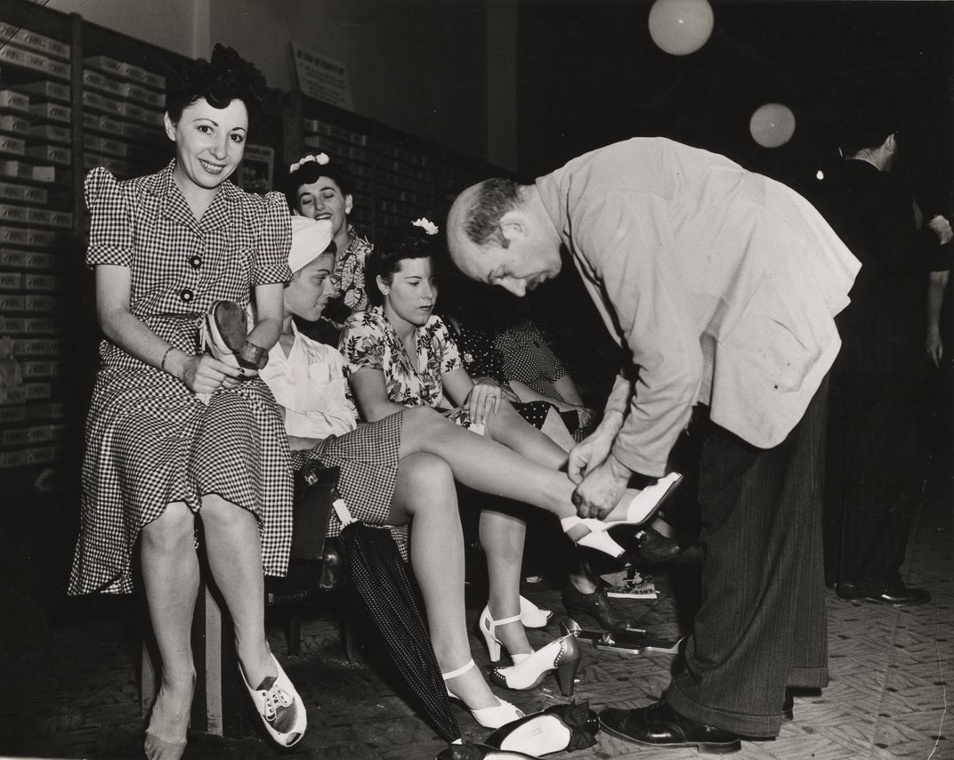 These Photos Captured What Happened When the United States Started to Ration Shoes During WWII