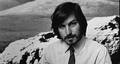 Apple founder Steve Jobs in 1977 introduces the new Apple II computer