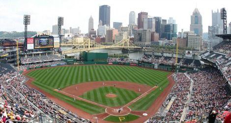 The Pittsburgh Pirates' stadium