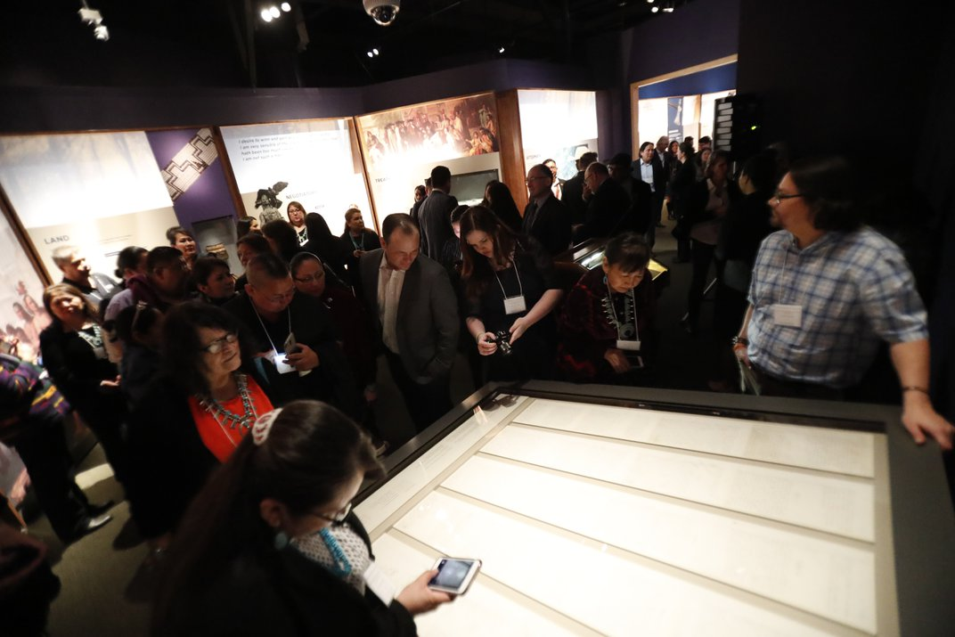 The Navajo Nation Treaty of 1868 Lives On at the American Indian Museum