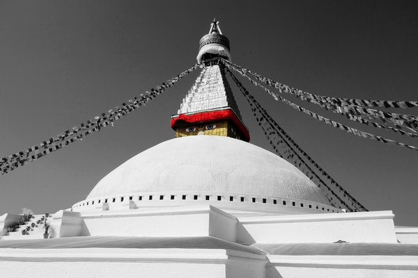 Boudhanath pagode in Kathmandu thumbnail
