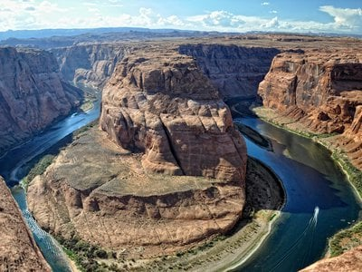 40 million people rely on the Colorado River for water, but its flow is falling by more than 9 percent with every 1.8 degrees Fahrenheit rise in temperature.