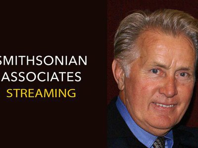 """Smithsonian Associates Streaming presents """"Mr. President: An Evening with Martin Sheen"""" on January 19."""