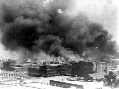 Tulsa in flames