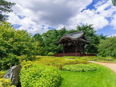 Chokushi-Mon (Gateway of the Imperial Messenger) and the Japanese Gardens