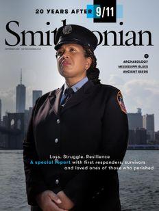 Smithsonian magazine September 2021 issue cover