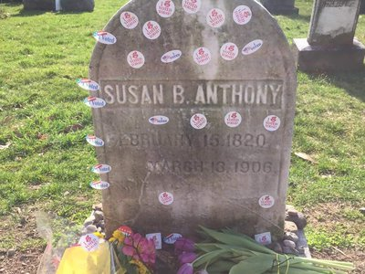 American women wouldn't be able to sport 'I Voted' stickers if not for Susan B. Anthony.