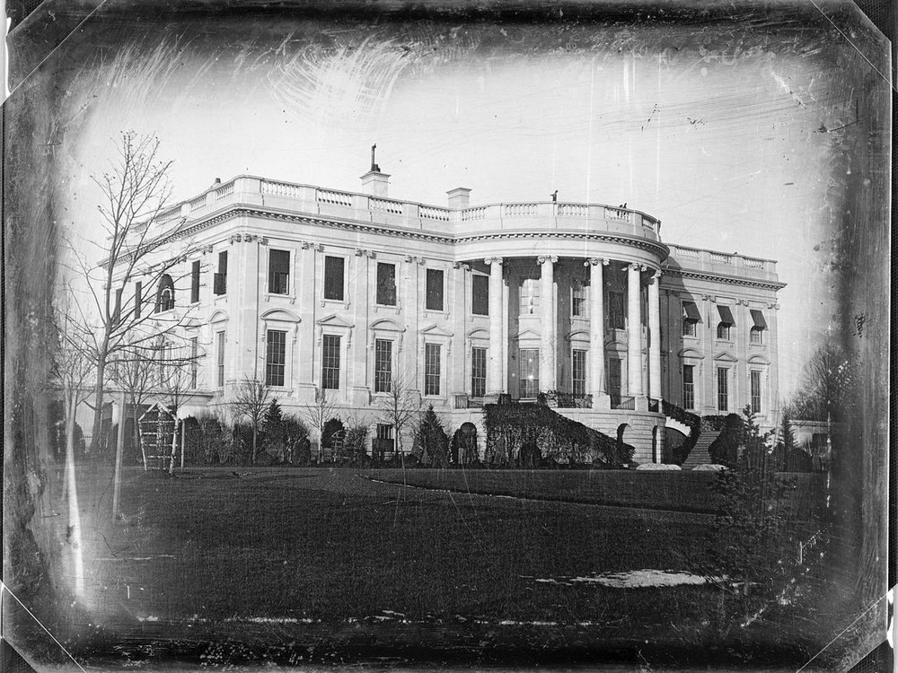 early white house picture