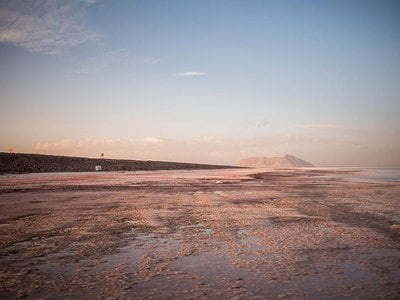 Iran's Lake Urmia, once one of the largest saltwater lakes in the world, is vanishing due to climate change.
