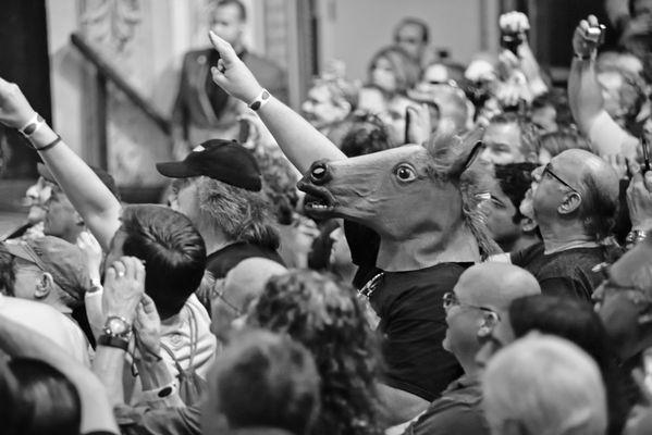 Gov't Mule member concert audience, NYC, 2015 thumbnail