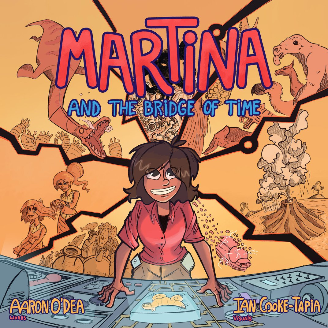 Cover of 'Martina and the Bridge of Time'