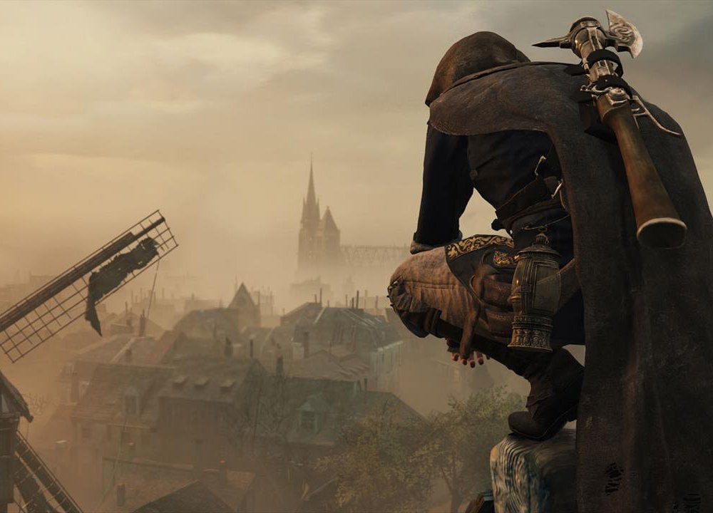 A scene from Assassins Creed
