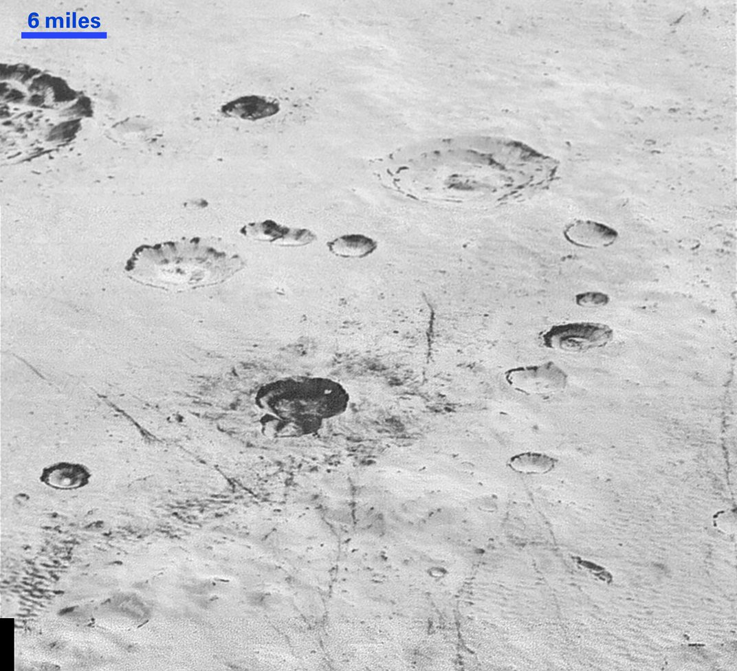 New Images Capture Pluto's Mountains, Badlands and Craters in Breathtaking Detail