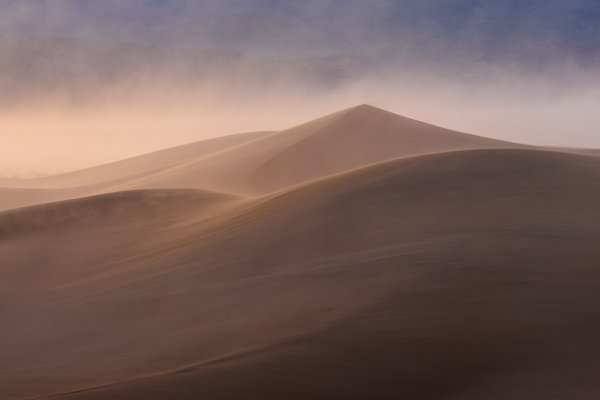 Mesquite Dunes at Sunset thumbnail