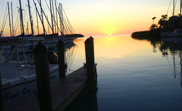 A Dock at Sunset in Morda By thumbnail