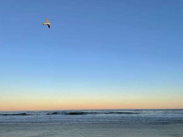 A water plane over Hampton Beach thumbnail
