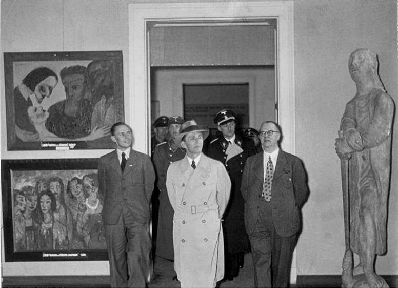How the Brits Refuted Nazi Germany's 'Degenerate Art' Exhibition