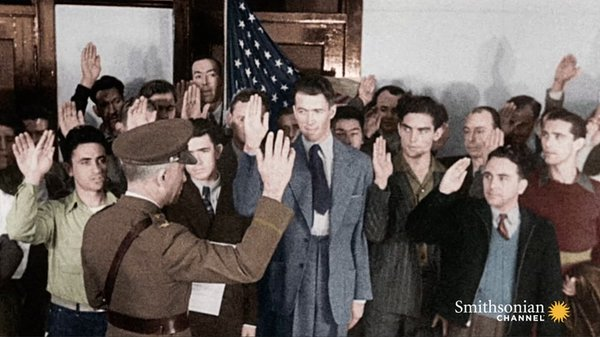 Preview thumbnail for How Hollywood Encouraged Recruitment for WWII