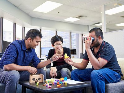 Nanayakkara has gone out of his way to ensure students and scientists in his prolific lab are enabled to create based on their interests, and collaborate with each other on their ideas.