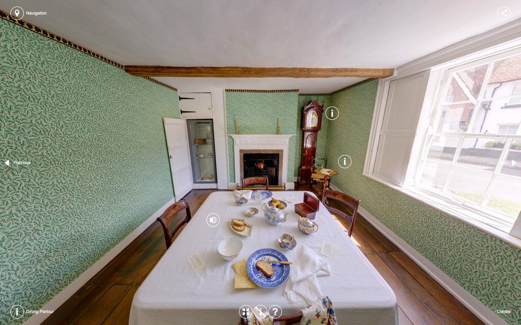 Celebrate Jane Austen's Birthday With a 360-Degree, Interactive Tour of Her House