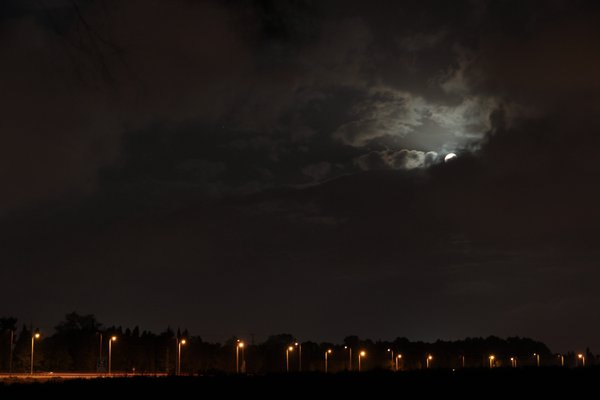 Moon over the Highway thumbnail
