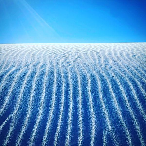 White Sands Contrails thumbnail