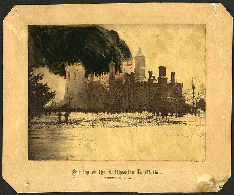 1865 Castle Fire