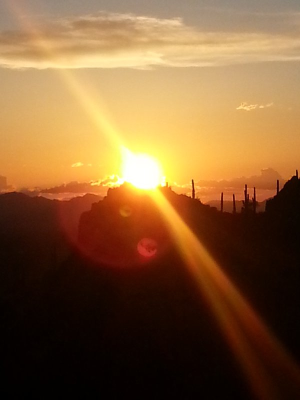 Sunset at Gates Pass  in Tucson thumbnail