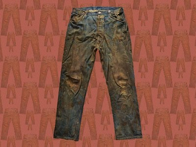 One of the oldest pairs of jeans in the world is this set of Levi's, made around the 1880s and still tough as dirt.