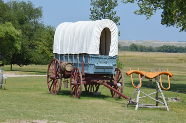 Pioneer Wagon in Fort Laramie thumbnail