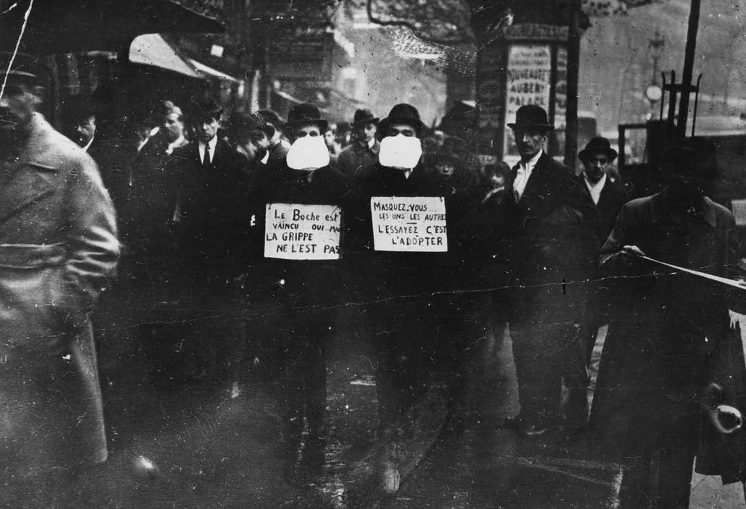 Compare the Flu Pandemic of 1918 and COVID-19 With Caution