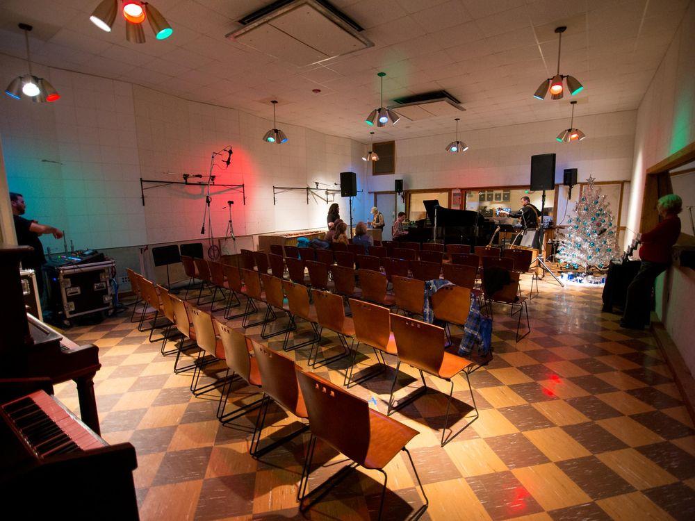Interior of Historic RCA Studio B today