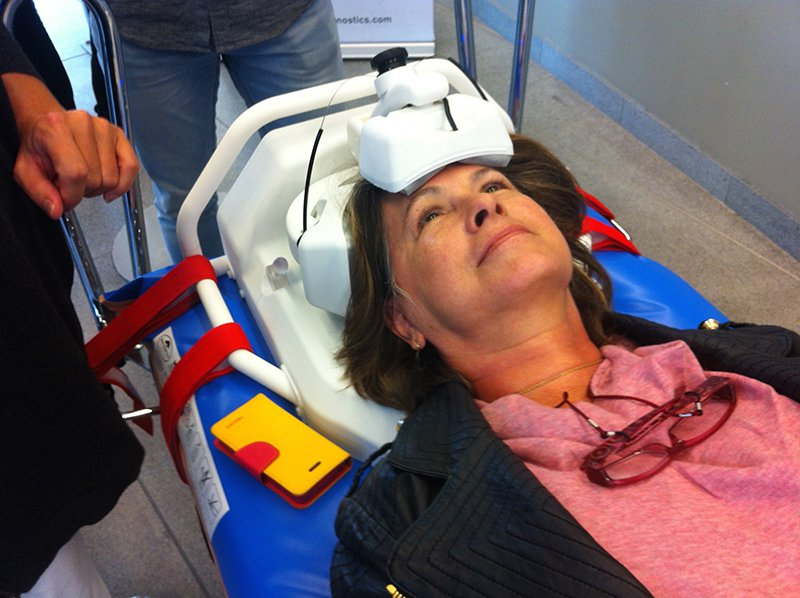 A Microwave Helmet May Help Diagnose Traumatic Brain Injury