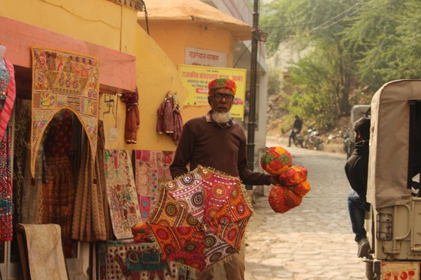 An old vendor from Rajasthan thumbnail