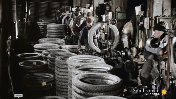 Preview thumbnail for How Henry Ford Found the Right Tires for Model T Cars