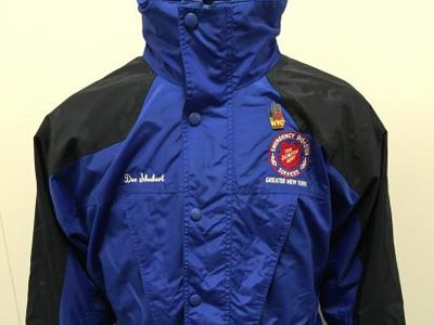 The Salvation Army jacket collected by the Smithsonian (NMAH)