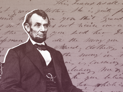 Thousands of volunteers helped transcribe the Library of Congress' Lincoln letters.