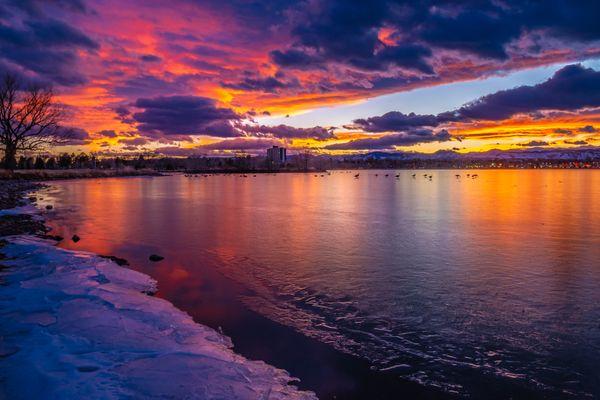Spring Sunset in Denver thumbnail