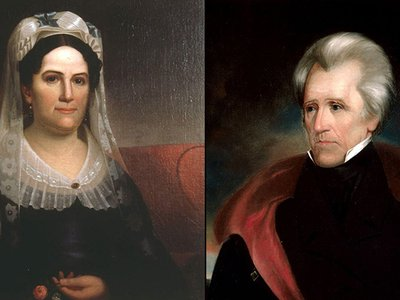 Rachel and Andrew Jackson's marriage was a source of controversy throughout his political career.