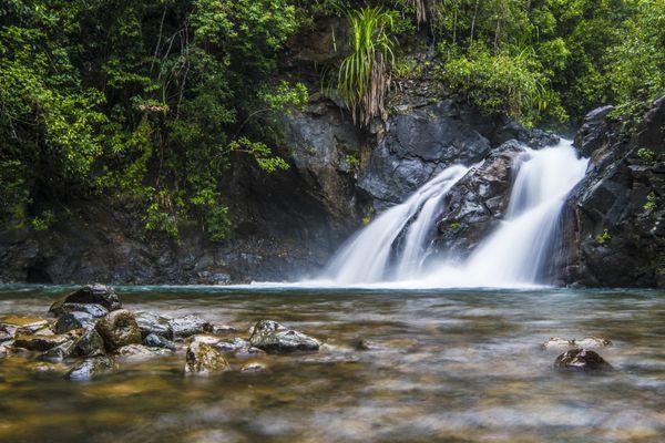 Estrella Falls in Narra, Palawan, Philippines thumbnail