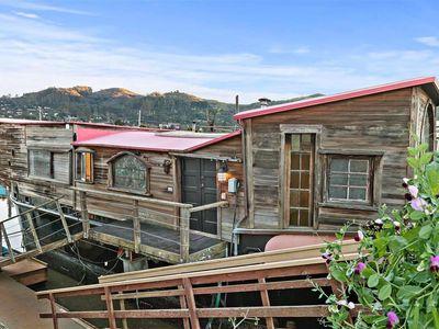 Shel Silverstein's houseboat, Evil Eye, is up for sale.