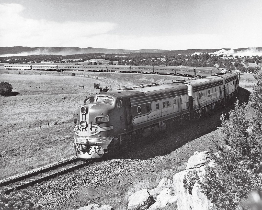 How the Santa Fe Railroad Changed America Forever