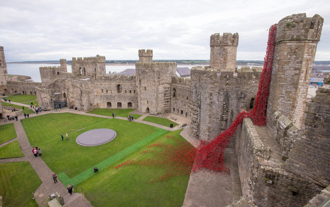 This Stunning Memorial to Britain's WWI Soldiers Makes Its Final Appearance