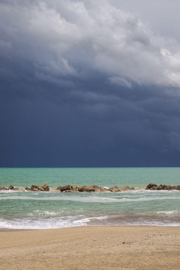 Storm outside Porto Recanati thumbnail