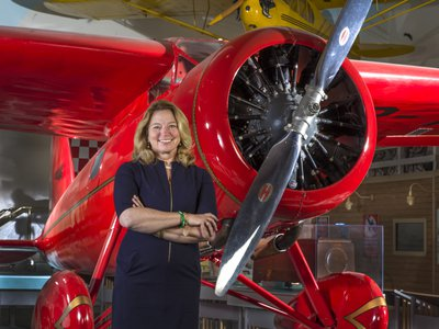 Dr. Ellen Stofan is John and Adrienne Mars Director of the Smithsonian's National Air and Space Museum. Photo by Jim Preston, Smithsonian's National Air and Space Museum