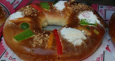 A Roscon de Reyes, courtesy of Tamorlan