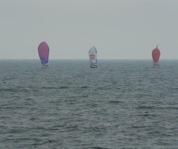 Sailboats party in the Atlantic Ocean! thumbnail