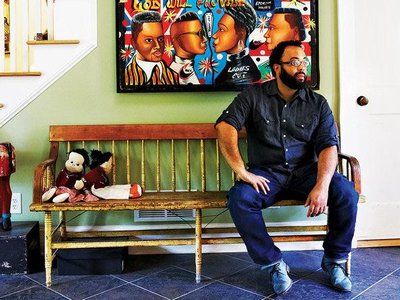 """""""Poetry is about those lyric transcendent moments,"""" says Kevin Young, the new director of the National Museum of African American History and Culture, """"and so is the museum, it reminds us what is possible."""""""