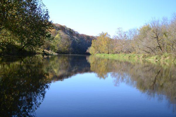 canoeing at Versailles State Park thumbnail