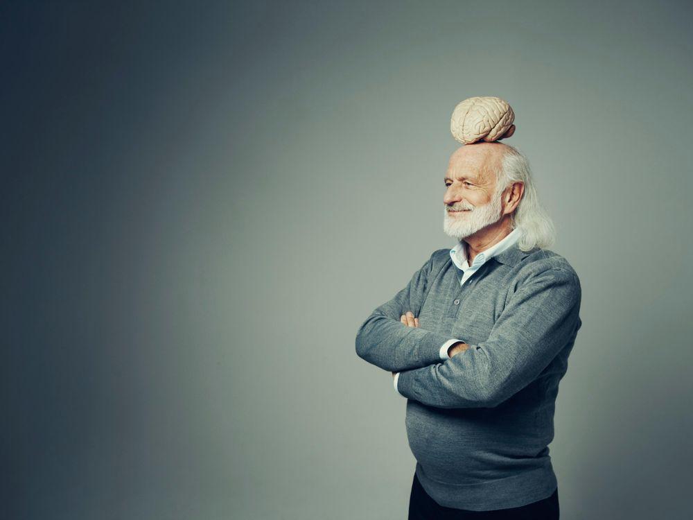 brain older man